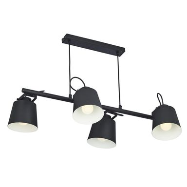 Lampa wisząca PRIMO czarna 4 x E27 TK LIGHTING