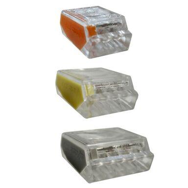 Zestaw szybkozłączek WAGO 5 X 3 + 10 X 4 + 5 X 5 1 DO 2,5 MM2 HBF