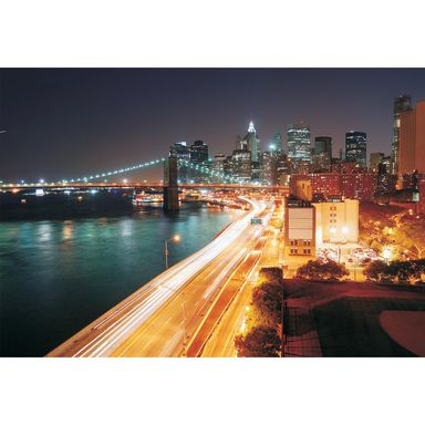 Fototapeta NYC LIGHTS 219 x 312 cm