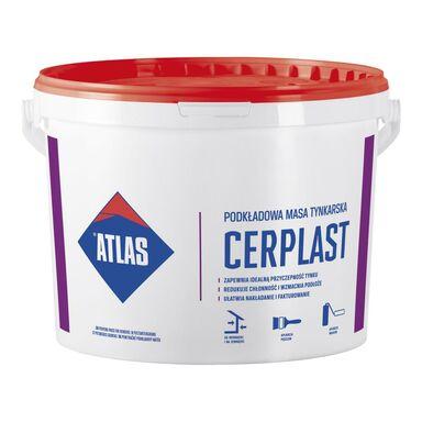 Podkładowa masa tynkarska CERPLAST Biała 15 kg ATLAS