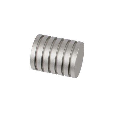 Końcówka do karnisza FREZ srebrna inox 20 mm