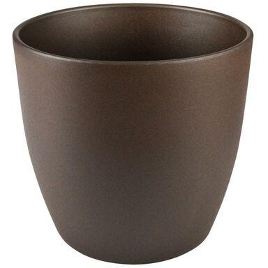 Doniczka ceramiczna 22 cm beżowa EMI CERAMIK
