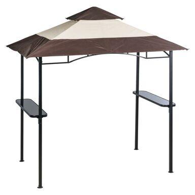 Pawilon ogrodowy 150 x 240 cm LAGOS ze stolikami