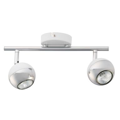 Listwa reflektorowa BIANCA biała / chrom GU10 SPOT-LIGHT