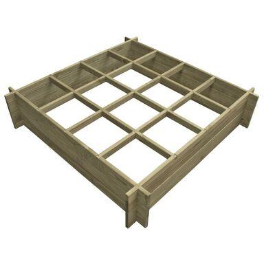 Warzywnik 120 x 120 cm drewniany STELMET