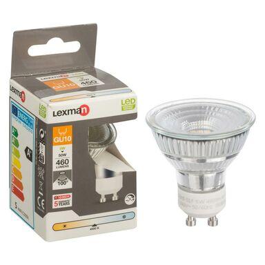 Żarówka LED GU10 (230 V) 5 W 460 lm Neutralny LEXMAN