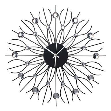 Zegar ścienny VISION śr. 50 cm czarny