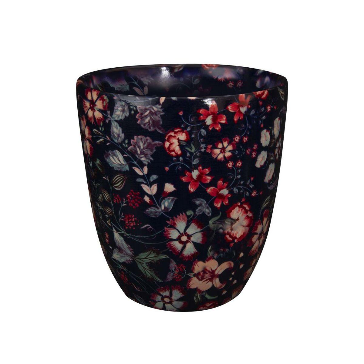 Osłonka Ceramiczna 16 Cm Granatowa Nova Eko Ceramika