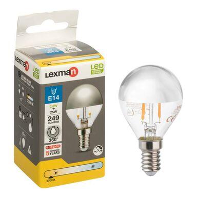 Żarówka dekoracyjna LED E14 (230 V) 2.8 W 249 lm LEXMAN
