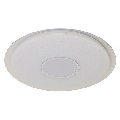 Plafon VIZZINI z głośnikiem i pilotem 56 cm biały LED INSPIRE