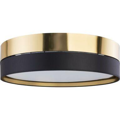 Plafon Hilton 60 cm czarno-złoty 4 x E27 TK Lighting
