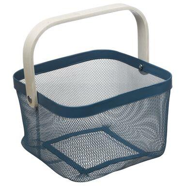 Koszyk łazienkowy szary Evg Trade