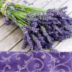 Serwetka LAVENDER IN THE COUNTRY 33 x 33 cm 20 szt.  PAW DECOR COLLECTION