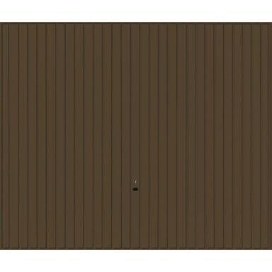 Brama garażowa UCHYLNA Brązowa 2375 x 2125 mm ECOSTAR