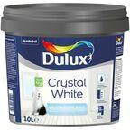 Farba wewnętrzna CRYSTAL WHITE 10 l Biała DULUX