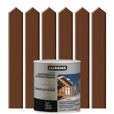 Lazura do drewna EKSTREMALNE WARUNKI 1 lPalisander LUXENS