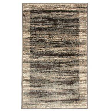 Chodnik dywanowy Jasmin beżowo-szary 80 x 140 cm
