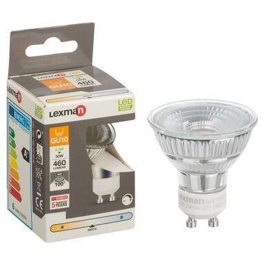 Żarówka LED GU10 (230 V) 5.3 W 460 lm Neutralny LEXMAN