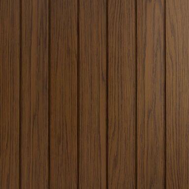 Podbitka dachowa PERFOROWANA SVP-09 Złoty dąb 8 x 300 x 2700 mm