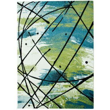 Dywan DECORIA zielony 80 x 150 cm wys. runa 9 mm MULTI-DECOR
