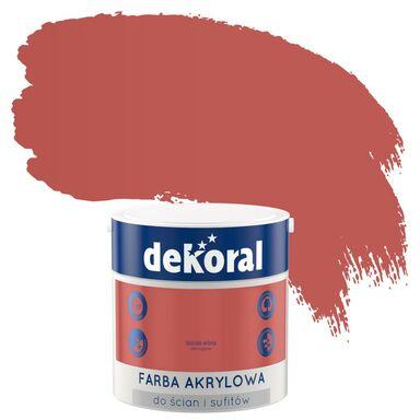 Farba wewnętrzna KOLORY, KTÓRE INSPIRUJĄ 2.5 l Dojrzała wiśnia DEKORAL