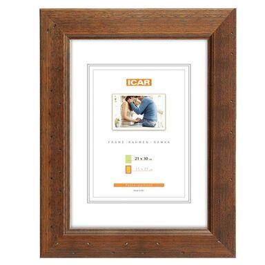 Ramka na zdjęcia KORA 21 x 30 cm brązowa drewniana