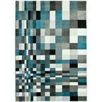 Dywan MIRAGE szary i niebieski 120 x 170 cm wys. runa 9 mm MULTI-DECOR