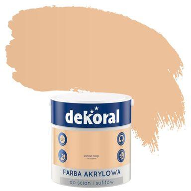 Farba wewnętrzna KOLORY, KTÓRE INSPIRUJĄ 2.5 l Kremowy mango DEKORAL