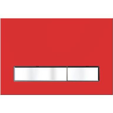 Przycisk spłukujący do stelaża VITRUM GRANDE czerwony KK-POL