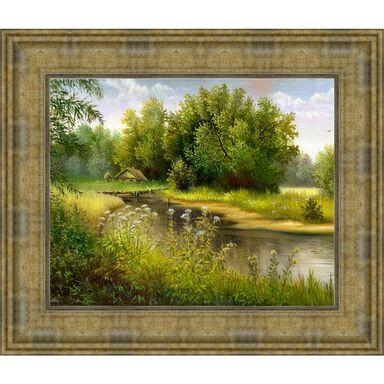 Obraz RZEKA 67.6 x 57.6 cm