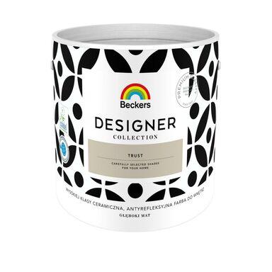 Farba wewnętrzna DESIGNER COLLECTION 2.5 l Trust BECKERS
