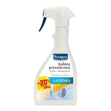Środek do czyszczenia ŁAZIENKA kabina prysznicowa 0.5 l + 20% STARWAX
