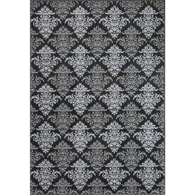 Dywan ALFA czarny 120 x 170 cm