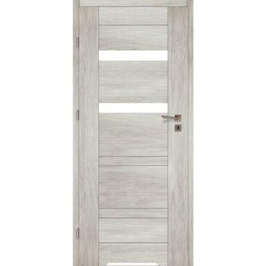 Skrzydło drzwiowe z podcięciem wentylacyjnym PARMA Dąb silver 60 Lewe VOSTER
