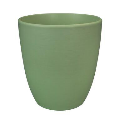Osłonka ceramiczna 16 cm zielona NOVA