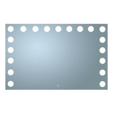Lustro łazienkowe z oświetleniem wbudowanym VESAGE 80 x 60 VENTI