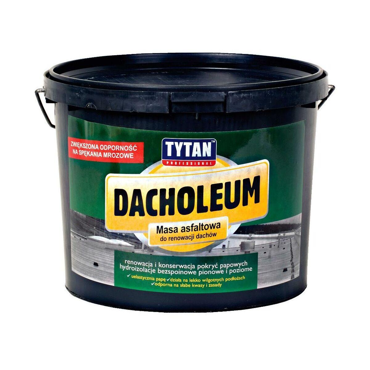 Masa Asfaltowa Do Renowacji Dachow Dacholeum 9 Kg Tytan Uszczelniacze Do Dachow W Atrakcyjnej Cenie W Sklepach Leroy Merlin