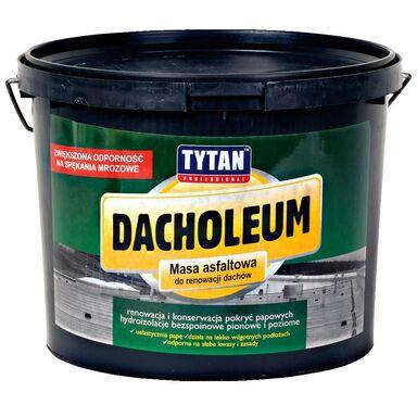 Masa asfaltowa do renowacji dachów DACHOLEUM 9 kg Tytan Professional