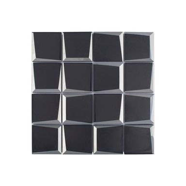 Mozaika SQUARE BLACK 3D 29.8 x 29.8 IRYDA