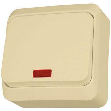 Włącznik pojedynczy PRIMA  Beżowy  SCHNEIDER ELECTRIC