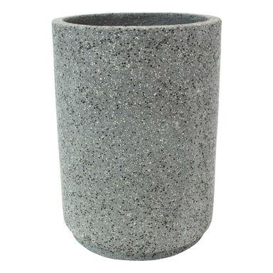 Doniczka betonowa 37 cm grafitowa MBS CYLINDER CERMAX