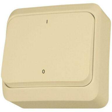 Włącznik dwubiegunowy PRIMA  beżowy  SCHNEIDER ELECTRIC