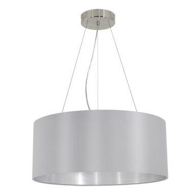 Lampa wisząca MASERLO szara E27 EGLO