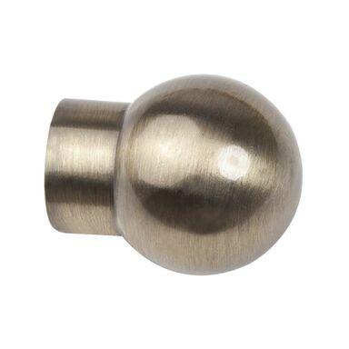 Końcówka do karnisza Kula antyczny mosiądz 19 mm 2 szt. Inspire