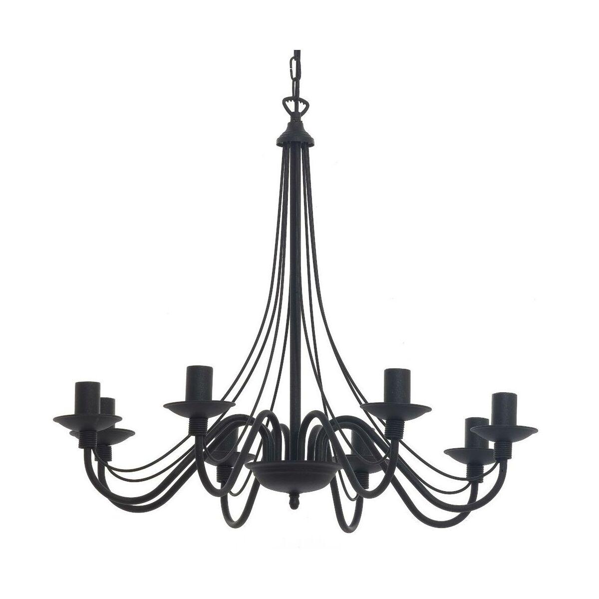 Zyrandol Roza Czarny E14 Aldex Zyrandole Lampy Wiszace I Sufitowe W Atrakcyjnej Cenie W Sklepach Leroy Merlin