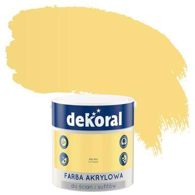 Farba wewnętrzna do ścian i sufitów KOLORY, KTÓRE INSPIRUJĄ 2.5 l Złoty kłos DEKORAL