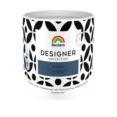 Farba wewnętrzna DESIGNER COLLECTION 2.5 l Midnight BECKERS