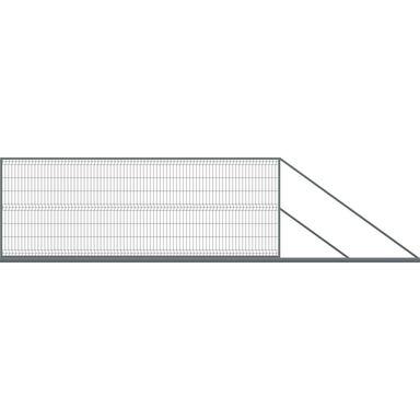 Brama przesuwna STARK 401 x 150 cm prawo POLBRAM
