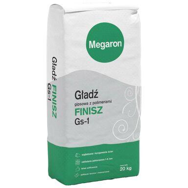 Gładź gipsowa z polimerami FINISZ Gs-1 20 kg MEGARON