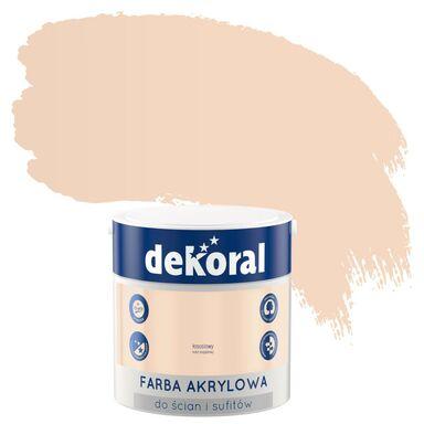 Farba wewnętrzna do ścian i sufitów KOLORY, KTÓRE INSPIRUJĄ 2.5 l Łososiowy DEKORAL